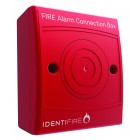 Vimpex 10-2410RSX-S Identifire Surface Alarm System Red Connection Box