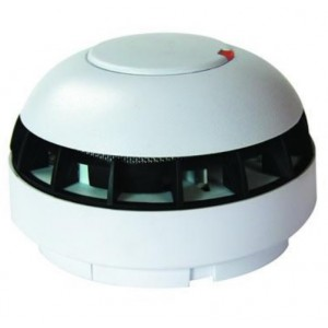 Fike Twinflex Multipoint Combined Heat & Optical Smoke Detector (With Sounder) - 202-0001