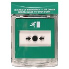 STI 6931/G Call Point Green Surface Stopper (308-163)