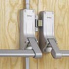 Briton 377E Double Rebated Door Panic Set