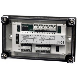 Global Fire Addressable 1 Channel Triple I/O Module with Isolator