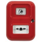 STI AP-4-R-A/CN Wireless Red Alert Point Lite with Beacon (404-002)