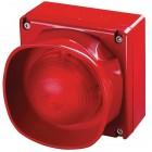 Apollo Weatherproof Red Multi-Tone Open-Area Sounder Visual Indicator without Isolator 55000-296APO