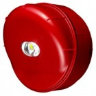Protec 6000/VAD/W/RED Wall VAD Beacon Red Body White LED