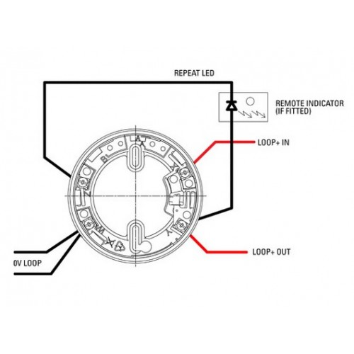 apollo xp95 smoke detector wiring diagram