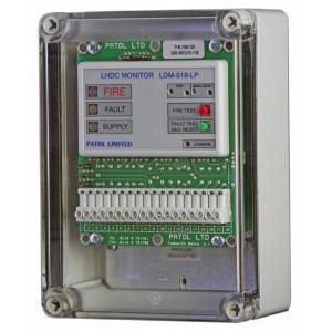 Patol Analogue LDM-519-LP LHD Interface & Fire Zone Monitor