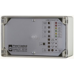 Patol Analogue LDM-519-ACT-N Fire Zone Monitor with Actuation Output