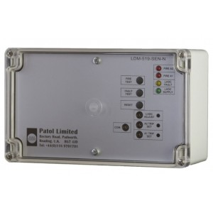 Patol Analogue LDM-519-SEN-N LHD Fire Zone Monitor with Two Level Set Alarm Points