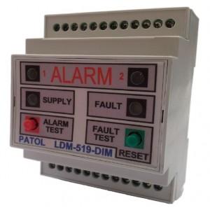 Patol Digital LDM-519-DIM Din Rail Mounted LHDC Monitor 2km (SIL 2 Certified)
