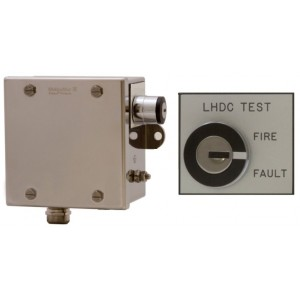 Patol Analogue EOL Stainless Steel Termination Box with Fire & Fault Test Key Switch
