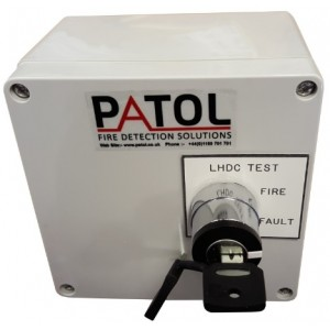 Patol Digital EOL ABS Termination Box for DDL Range with Fire & Fault Test Key Switch