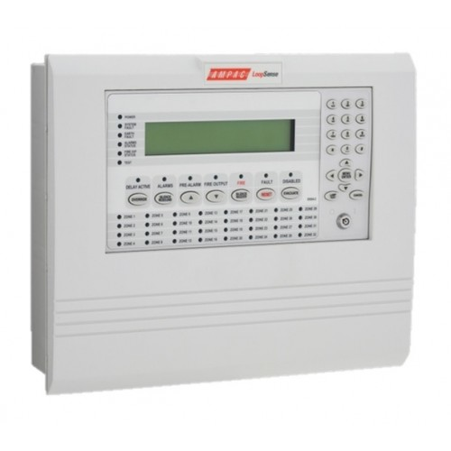 Ampac Loopsense 1 Loop 32 Zone Abs Fire Alarm Control