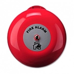 "Ziton AB360 6"" Fire Bell For Indoor Use 24 VDC"