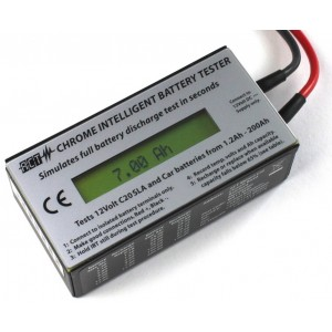 ACT 12v Chrome Intelligent Battery Tester