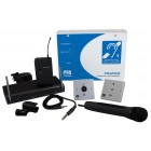 C-Tec PDA200E AKW2/H Hearing Loop Kit for Place of Worship with Handheld Radio Microphone (200m2)
