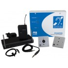 C-Tec PDA200E AKW2/L Hearing Loop Kit for Place of Worship with Levalier Radio Microphone (200m2)