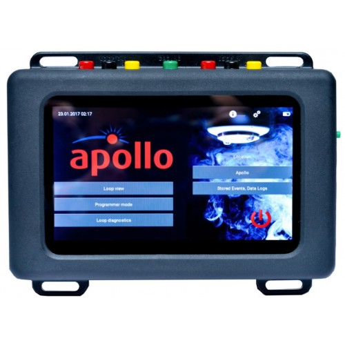apollo sa7800 870apo touch screen portable test set unit. Black Bedroom Furniture Sets. Home Design Ideas