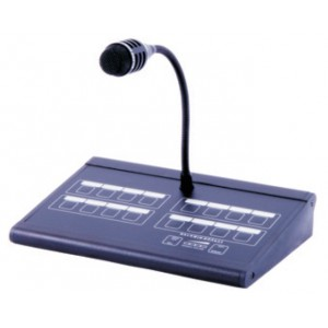Baldwin Boxall 16 Zone Paging Microphone with Surveillance BDM316M