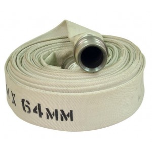 Type 1 Hose with Coupling - 18.3m x 64mm