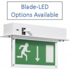 Advanced Lux Intelligent Recessed LED Blade-LED Maintained 3 Hour Addressable Emergency Light