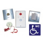 Baldwin Boxall Disabled Toilet Alarm Assistance Call Kit (Half Stainless-Steel) BVOCDTAS