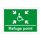 Disabled Refuge Signs
