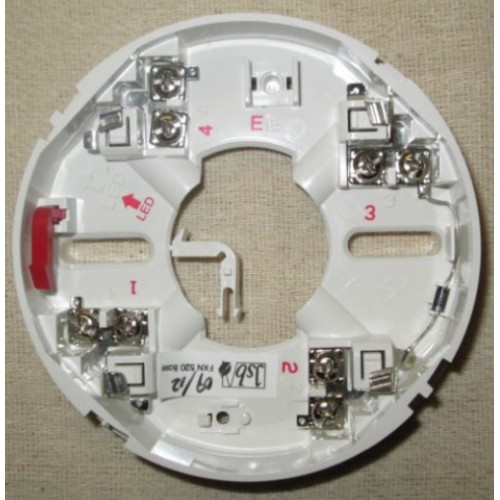 CDBB300 500x500 cdbb300 conventional detector mounting base menvier smoke detector wiring diagram at virtualis.co