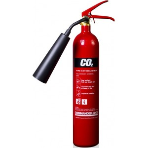 2Kg CommanderEDGE Carbon Dioxide Extinguisher - CO2E