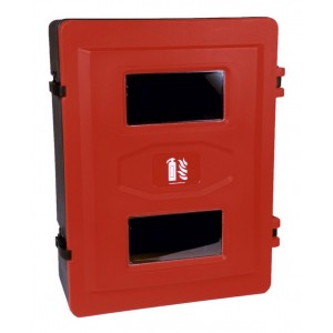 Fire Extinguisher Double Cabinet