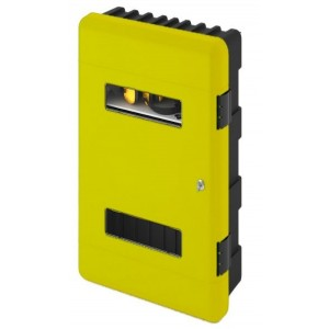 Commander CS03-DA/YELLOW Double Cabinet – Yellow