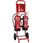 Fire Extinguishers Stands and Trolleys