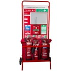 Commander Fire Point Wheeled Stand CS26A