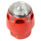 Morley CWSS-RW-W5 Gent VAD Sounder Red Body White Flash IP65 Deep Base