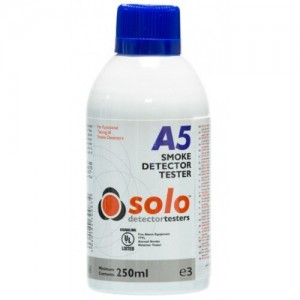 Solo A5 Smoke Detector Test Gas Canister 250ml (Flammable)