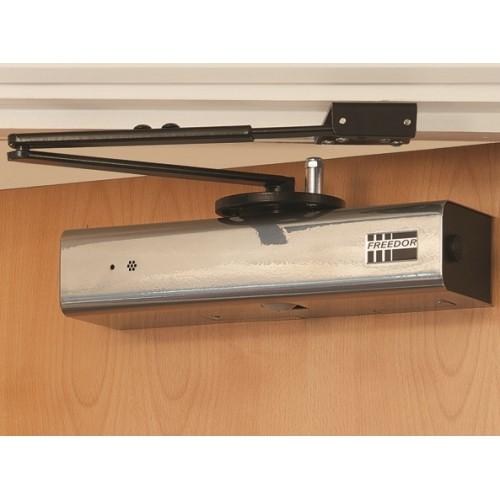 fireco freedor wireless free swing fire door closer. Black Bedroom Furniture Sets. Home Design Ideas