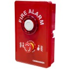 CommandAlert Radio Linkable Weatherproof Site Alert Alarm