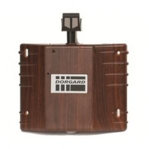 Fireco Dorgard Acoustic Fire Door Retainer in Mahogany - DG200-MAHOG