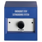 Ziton DM700B03-KITR Blue Extinguishing Hold Push Button Call Point