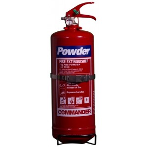 3Kg Commander ABC Powder Extinguisher - DPEX3