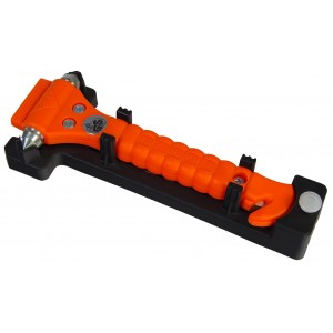 Emergency Life Hammer with Cutter Rescue Tool