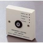 Emergency Light Timed Key Test Switch