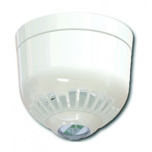 Klaxon ESC-5006 Sonos Pulse Ceiling Sounder VAD Beacon with Shallow Base - White Body & White Flash