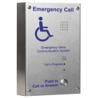 C-Tec EVC302S Type B Stainless Steel Handsfree EVC Surface Outstation