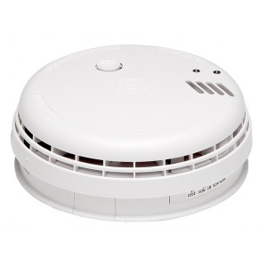 Aico Optical Smoke Alarm with Battery Back-up & Base – Ei146RC