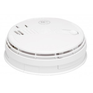 Aico 230v Ionisation Smoke Alarm with Rechargeable Back-up and Base – Ei161RC