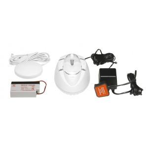 Aico RadioLINK Alarm for Deaf 230V with Strobe / Vibrating Pad – Ei170RF