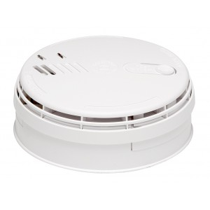 Aico 12V – 24V Interconnectable Ionisation Smoke Alarm with Relay and Battery Back Up – Ei181