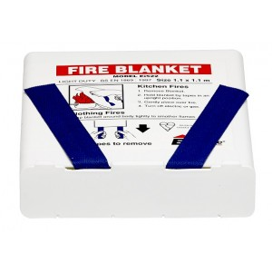 Aico Fire Blanket for Household use 1.1m x 1.1m - Ei522