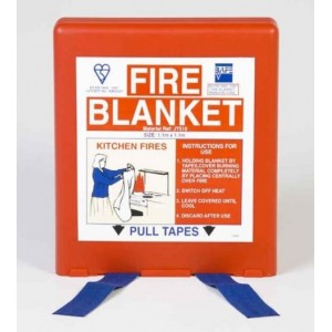 Commander FB01 1m x 1m Fire Blanket