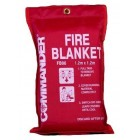 Commander Soft Pack FB06 1.2m x 1.2m Fire Blanket